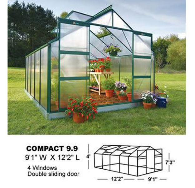 Picture of Juliana Compact Plus 9.9 Greenhouse
