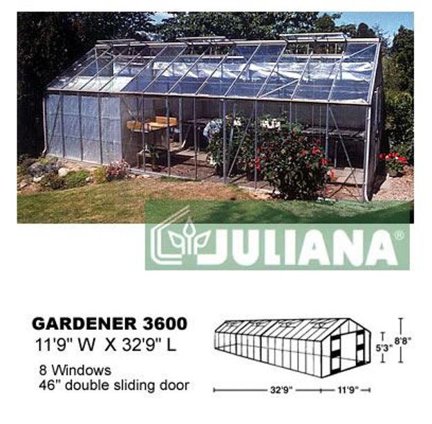 Picture of Juliana Gardener 3600 Greenhouse