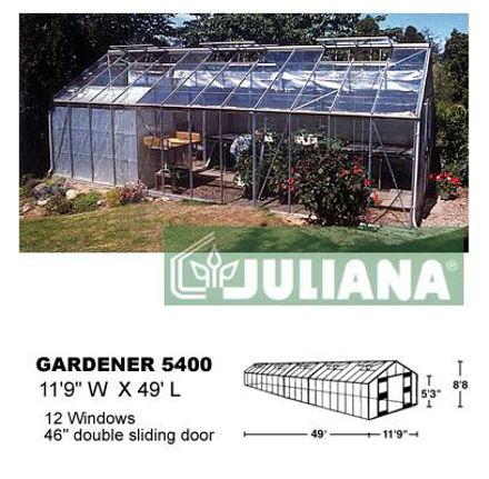Picture of Juliana Gardener 5400 Greenhouse