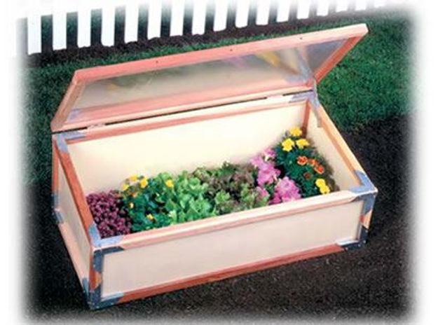 Picture of Sunshine Cold Frame Garden Starter Kit