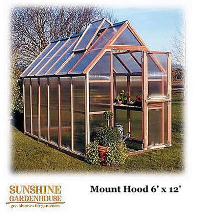 Picture of Sunshine Mt. Hood GardenHouse 6 x 12