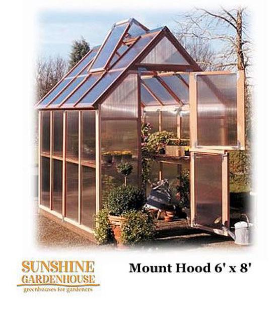Picture of Sunshine Mt. Hood GardenHouse 6 x 8