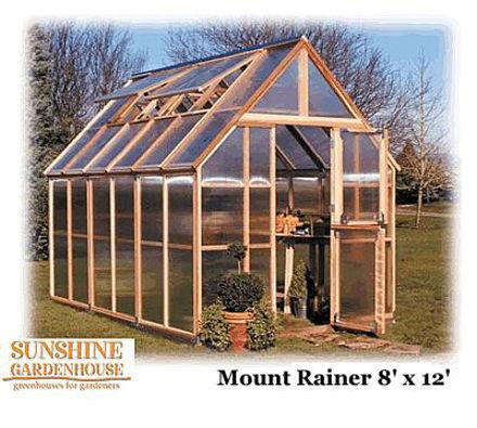 Picture of Sunshine Mt. Rainier GardenHouse 8 x 12