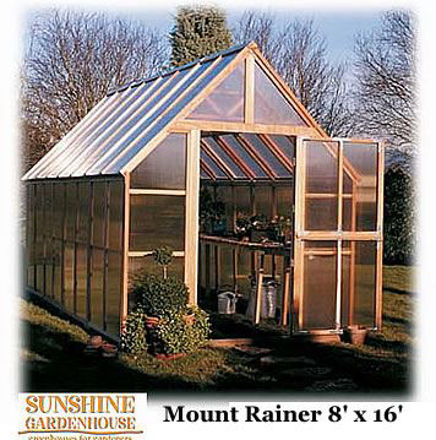 Picture of Sunshine Mt. Rainier GardenHouse 8 x 16