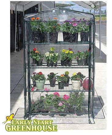 "Picture of Early Start 4-Shelf Growing Rack 40""w"