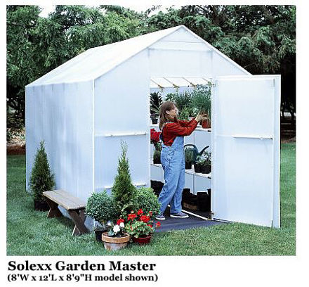 Picture of Solexx Garden Master 8x12 Greenhouse
