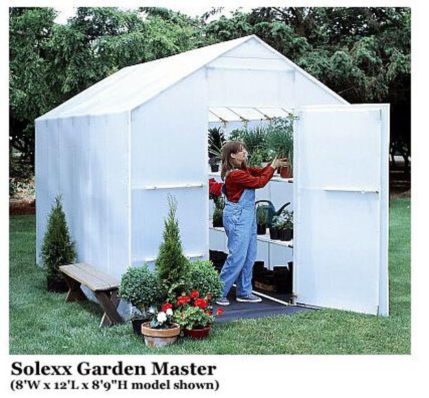 Picture of Solexx Garden Master 8x24 Greenhouse