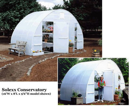 Picture of Solexx Conservatory 16x8 Greenhouse