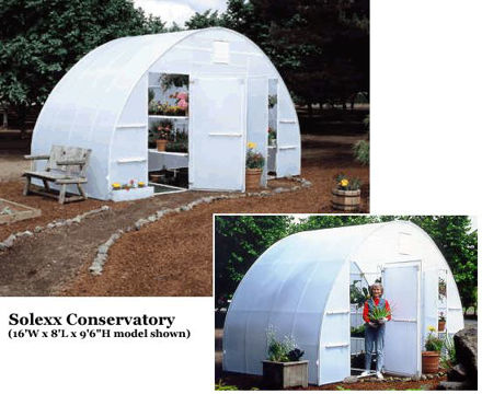 Picture of Solexx Conservatory 16x16 Greenhouse
