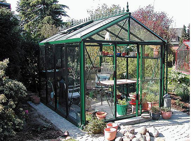 Picture of Exaco Royal Victorian Glass Greenhouse Kit 8 x 10 VI2 3