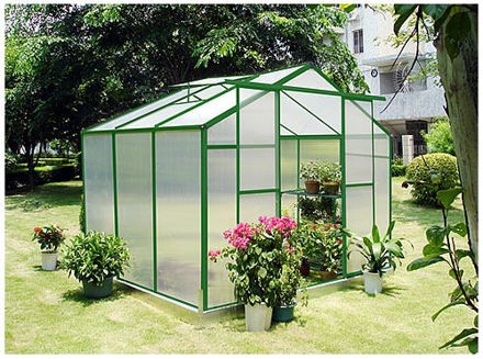 Picture of Sundog Traditional Greenhouse 9 x 7