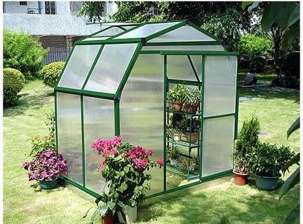 Picture of Sundog Small Barn Greenhouse 6' W x 5' L