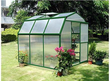 Picture of Sundog Small Barn Greenhouse 6' W x 7'  L