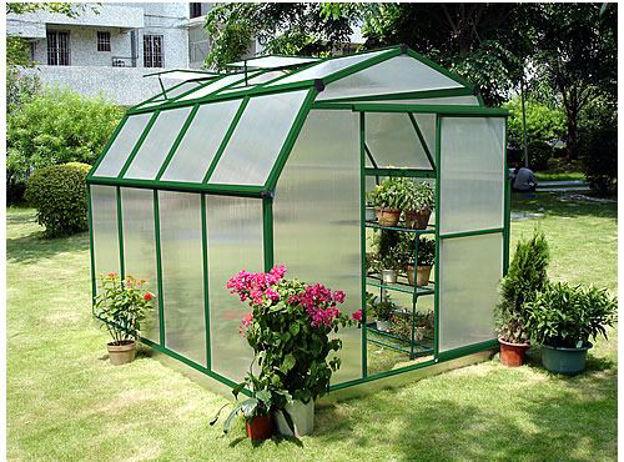 Picture of Sundog Small Barn Greenhouse 6' W x 10' L