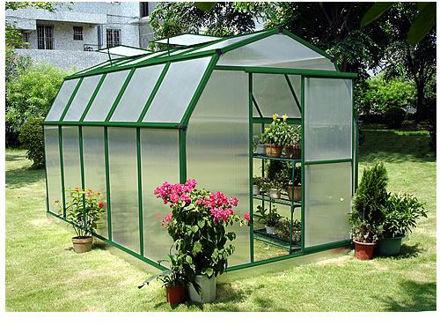 Picture of Sundog Small Barn Greenhouse 6' W x 12' L