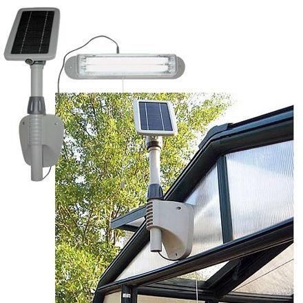 Picture of Greenhouse Solar Lighting