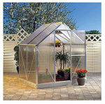 Picture of Juliana Basic 300 Cold Weather Greenhouse with Heater, Base Kit, and Vent Opener