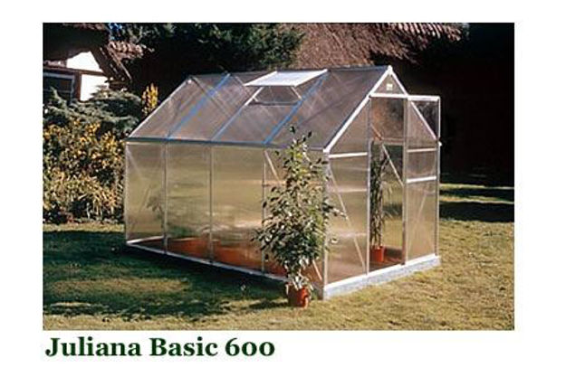 Picture of Juliana Basic 600 Cold Weather Greenhouse with Heater Base Kit,...