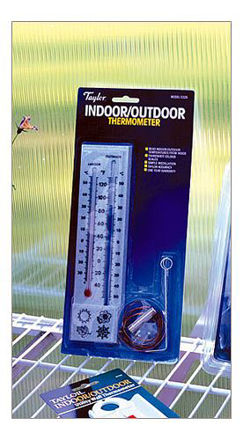 Picture of Greenhouse Indoor / Outdoor Thermometer