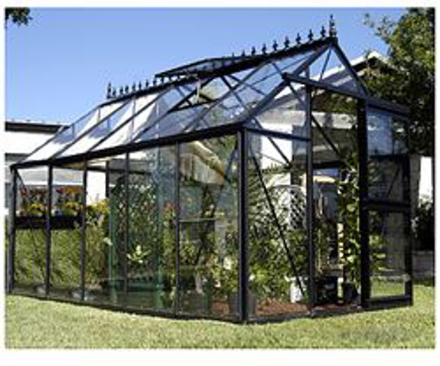Picture of Exaco Junior Victorian 8' X 12.5' Greenhouse Kit