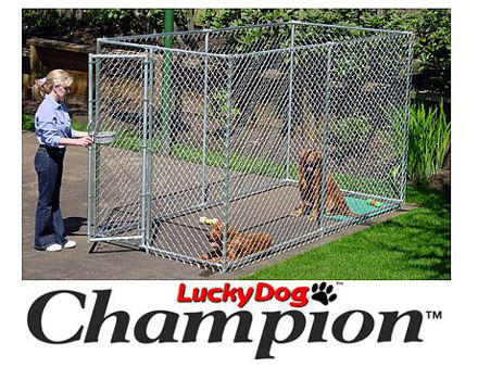 Picture of Champion Lucky Dog Box Kennel 6'H x 5'W x 10'L