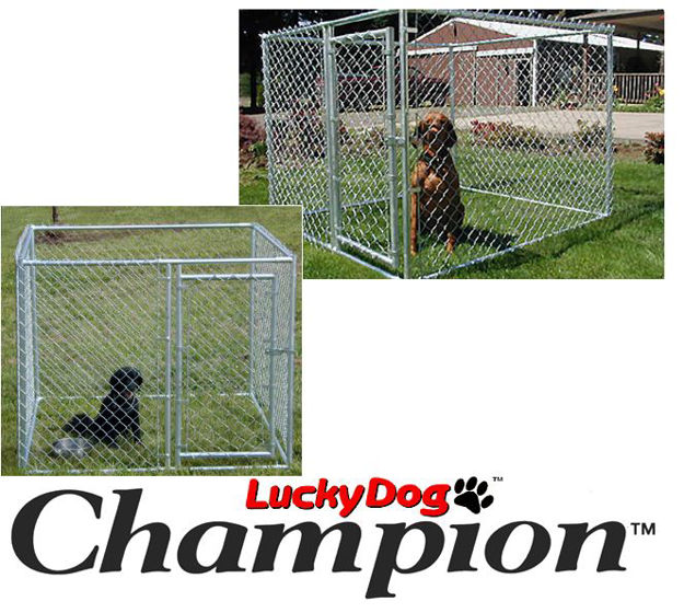 Picture of Champion Lucky Dog Box Kennel 4'H x 5'W x 5'L