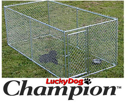 Picture of Champion Lucky Dog Box Kennel 4'H x 5'W x 10'L