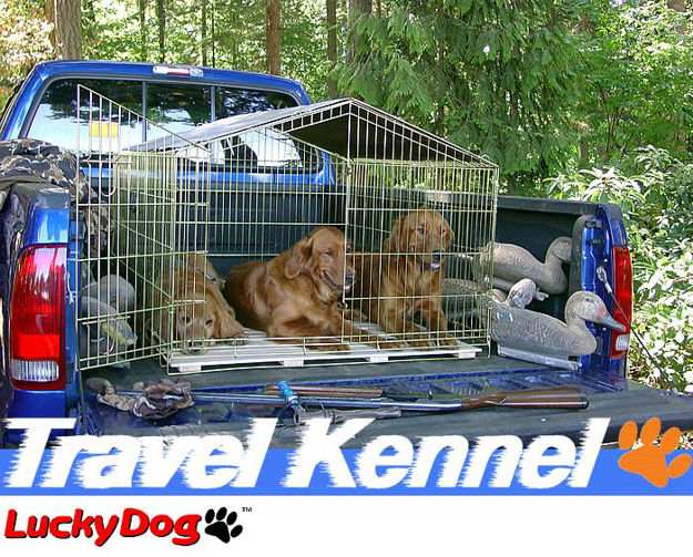 """Picture of Travel Dog Kennel 32""""H x 40""""W x 40""""L"""