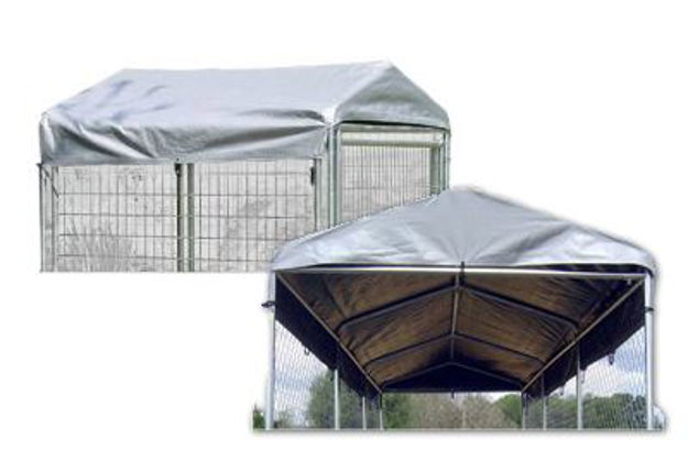 Picture of Weatherguard Kennel Cover Kit w/Poles 10'x10'