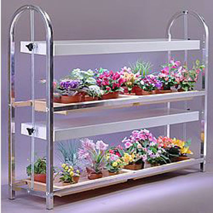 Picture of Compact Lite 2 Shelf Extra Long Plant Cart