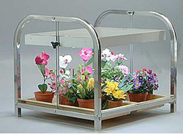 Picture of Compact Lite 1 Shelf / 2 Tray Plant Cart