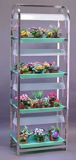Picture of Super Value Growing Aluminum Stand 4 Shelf / 4 Tray