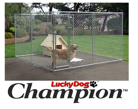 Picture of Champion Lucky Dog Box Kennel 6'H x 10'W x 10'L
