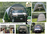 Picture of 14 x 24 x 10 Round Style Portable Garage
