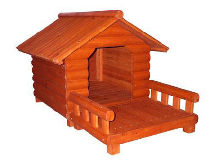 Picture of The Large Lob Cabin Dog House