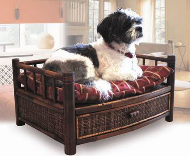 Picture of Tropical Island Dog and Cat Bed