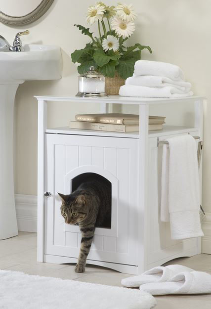 Picture of Litter Box Hideaway/Cat Washroom