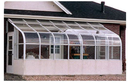 Picture of Grand Hideaway Lean to Greenhouse Ten Foot Wide Model