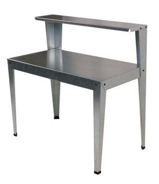 Picture of Galvanized Steel Greenhouse Potting Bench