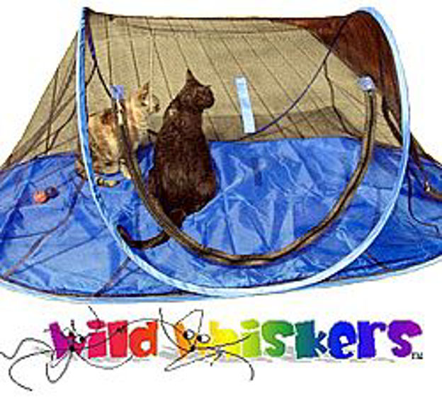 Picture of Wild Whiskers Feline Funhouse with Comfort Pad