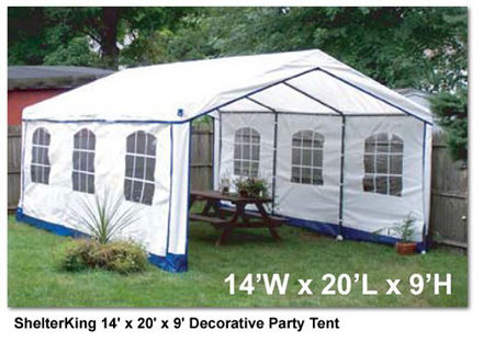 Picture of ShelterKing 14 x 20 x 9 ft. Party Tent