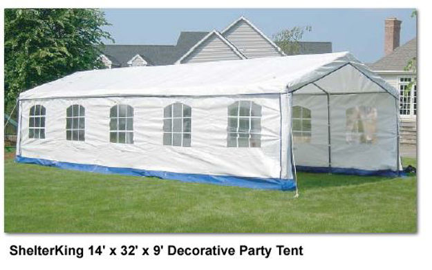 Picture of ShelterKing 14 x 32 x 9 ft. Party Tent