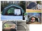 Picture of ShelterKing 30 x 30 x 15 Round Style Portable Building