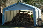 Picture of 12 x 12 x 8 House Style Portable Garage