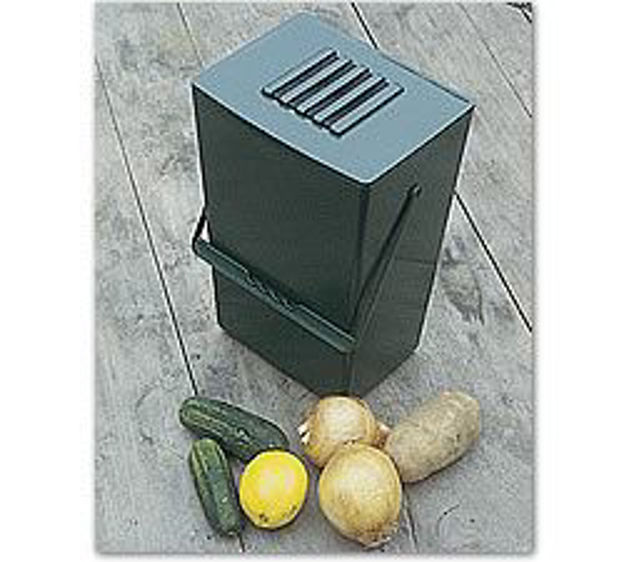 Picture of Odor Free Compost Bucket w/ 6 charcoal filters