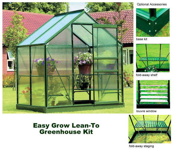 Picture of Easy Start 4' x 6' Greenhouse Kit