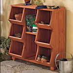 Picture of Stackable Wood Storage Cubby