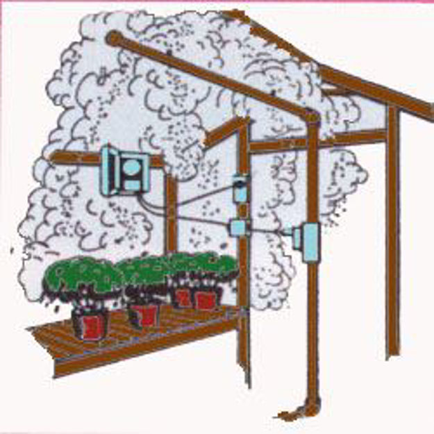 Picture of Home Greenhouse Fog-Mist System