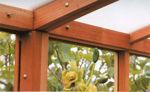 Picture of Riverside 15' W x 32' L Redwood Greenhouse kit