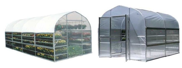 Picture of Bench Mart Deluxe 10 x 12 Retail Greenhouse